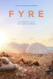 FYRE Festival: Fiasco no Caribe - Poster / Capa / Cartaz - Oficial 1