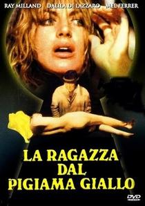 A Moça de Pijama Amarelo - Poster / Capa / Cartaz - Oficial 1