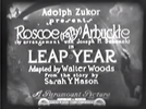 Leap Year (Leap Year)