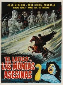 O Chicote Justiceiro Contra As Múmias Assassinas - Poster / Capa / Cartaz - Oficial 1