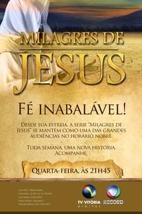 Milagres de Jesus - Poster / Capa / Cartaz - Oficial 2