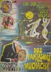Dois Fantasmas e Uma Garota - Poster / Capa / Cartaz - Oficial 1