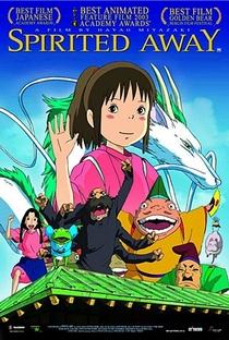 A Viagem de Chihiro - Poster / Capa / Cartaz - Oficial 17