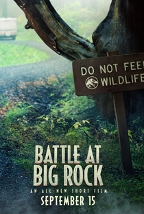 Jurassic World - A Batalha de Big Rock - Poster / Capa / Cartaz - Oficial 1