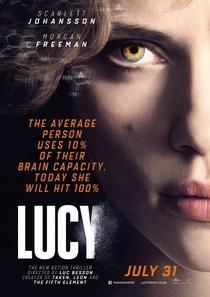 Lucy - Poster / Capa / Cartaz - Oficial 4