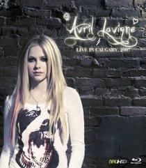 Avril Lavigne - Live in Calgary 2007 - Poster / Capa / Cartaz - Oficial 1