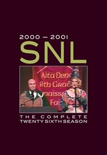 Saturday Night Live (26ª Temporada) - Poster / Capa / Cartaz - Oficial 1