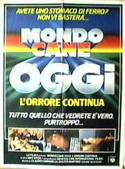 Mondo Cane Oggi - L'orrore Continua - Poster / Capa / Cartaz - Oficial 1