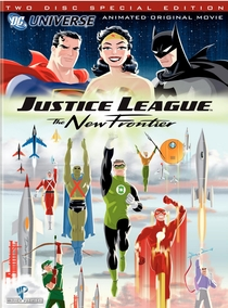 Liga da Justiça - A Nova Fronteira - Poster / Capa / Cartaz - Oficial 2