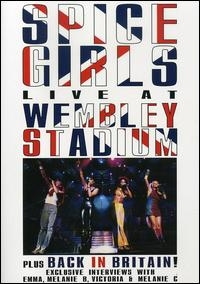 Spice Girls - Live At Wembley Stadium - Poster / Capa / Cartaz - Oficial 1