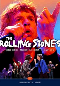 Rolling Stones - Anaheim 2013 (2nd Show) - Poster / Capa / Cartaz - Oficial 1