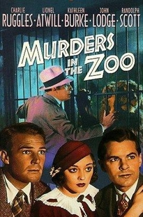 Murders in the Zoo - Poster / Capa / Cartaz - Oficial 3