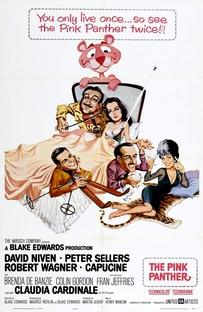 A Pantera Cor-de-Rosa - Poster / Capa / Cartaz - Oficial 1