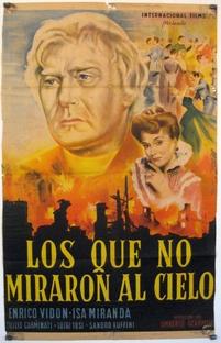 Os Homens não olham para o Céu - Poster / Capa / Cartaz - Oficial 3