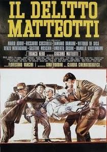 O Delito Matteotti - Poster / Capa / Cartaz - Oficial 1