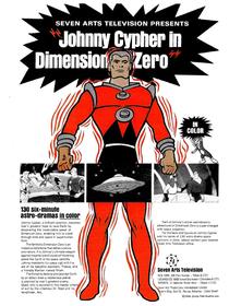 Johnny Cypher na Dimensão Zero - Poster / Capa / Cartaz - Oficial 1