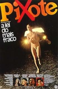 Pixote: A Lei do Mais Fraco - Poster / Capa / Cartaz - Oficial 2