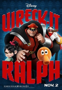 Detona Ralph - Poster / Capa / Cartaz - Oficial 12