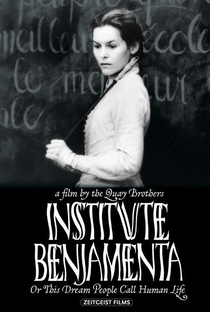 Instituto Benjamenta ou Este Sonho que as Pessoas Chamam de Vida Humana - Poster / Capa / Cartaz - Oficial 1