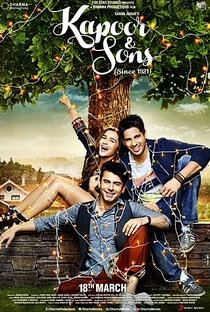 Kapoor & Sons - Poster / Capa / Cartaz - Oficial 1