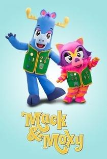 Mack & Moxy (1ª Temporada - Poster / Capa / Cartaz - Oficial 1