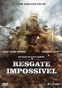 Resgate Impossível - Poster / Capa / Cartaz - Oficial 2