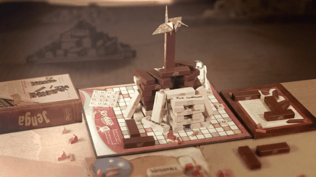 Game of Thrones: abertura recriada com boardgames e utensílios domésticos