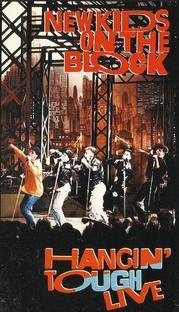 New Kids On The Block - Hangin' Tough Live - Poster / Capa / Cartaz - Oficial 1