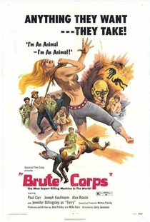 Brigada de Brutos - Poster / Capa / Cartaz - Oficial 1