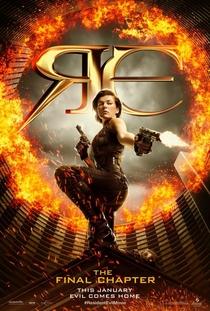 Resident Evil 6 - O Capítulo Final - Poster / Capa / Cartaz - Oficial 2