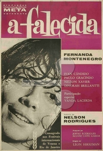 A Falecida - Poster / Capa / Cartaz - Oficial 2