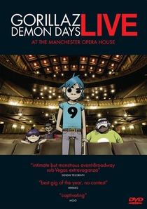 Gorillaz ‎– Demon Days Live At The Manchester Opera House - Poster / Capa / Cartaz - Oficial 1