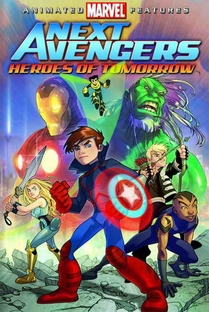 Os Novos Vingadores: Heróis do Amanhã - Poster / Capa / Cartaz - Oficial 1