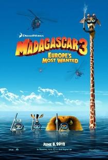 Madagascar 3: Os Procurados - Poster / Capa / Cartaz - Oficial 2
