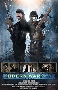 Modern War Gear Solid - Poster / Capa / Cartaz - Oficial 1