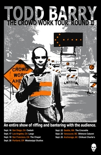 Todd Barry: The Crowd Work Tour - Poster / Capa / Cartaz - Oficial 1
