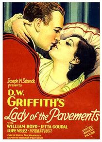 Lady of the Pavements - Poster / Capa / Cartaz - Oficial 1