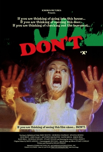 Don't - Poster / Capa / Cartaz - Oficial 1