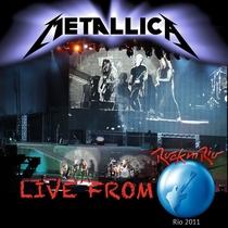 Metallica - Rock in Rio - Poster / Capa / Cartaz - Oficial 1