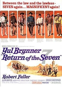 A Volta dos Sete Homens - Poster / Capa / Cartaz - Oficial 1