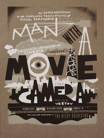 Um Homem Com uma Câmera - Poster / Capa / Cartaz - Oficial 3