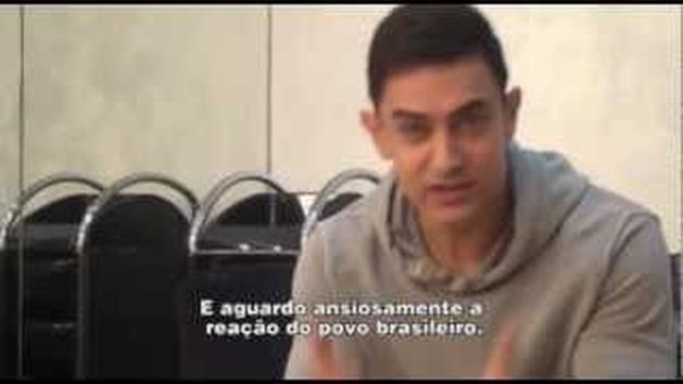 Fanaa | Aamir Khan fala ao Brasil.