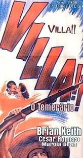 Villa - O Temerário - Poster / Capa / Cartaz - Oficial 1