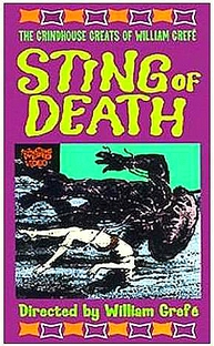 Sting of Death - Poster / Capa / Cartaz - Oficial 1