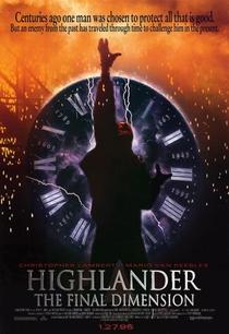 Highlander 3 - O Feiticeiro - Poster / Capa / Cartaz - Oficial 3