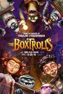 Os Boxtrolls - Poster / Capa / Cartaz - Oficial 3