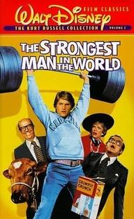 O Homem Mais Forte do Mundo - Poster / Capa / Cartaz - Oficial 1