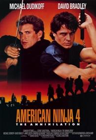 American Ninja 4: O Grande Kickboxer Americano - Poster / Capa / Cartaz - Oficial 1