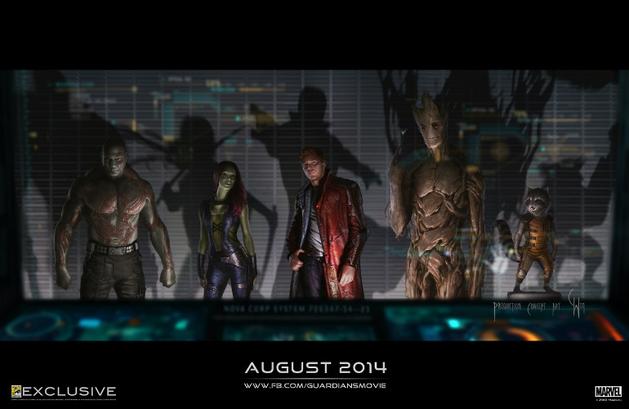 """Veja primeira imagem conceitual de """"Guardiões da Galáxia"""""""