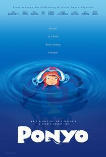 Ponyo: Uma Amizade que Veio do Mar - Poster / Capa / Cartaz - Oficial 1